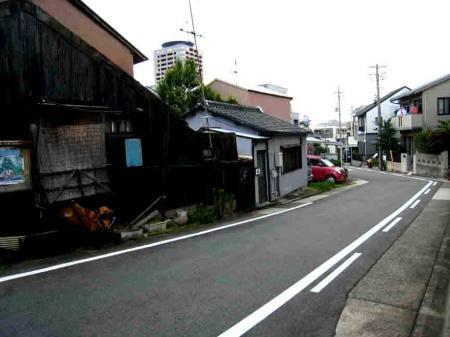 古井ノ坂近辺の坂道