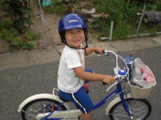 自転車でおかいもの
