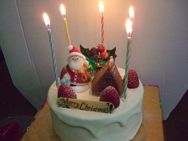 ケーキどうぞ^^