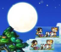 8・31日ーお月様を見てたら