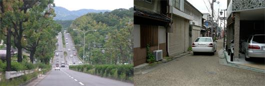 奈良の道路事情