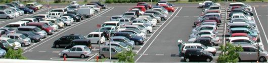 稙田の駐車場