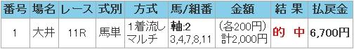 2008.07.31大井11R馬単.JPG