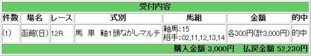 2008.08.10函館12R馬単万馬券.JPG