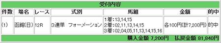 2008.08.10函館12R3連単万馬券.JPG