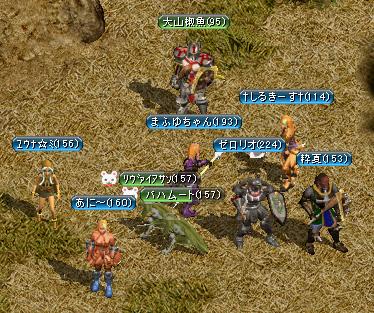 7人の侍(+2匹)