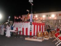 上美生地区盆踊り大会~~!