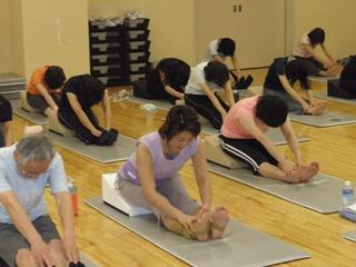 yoga前屈