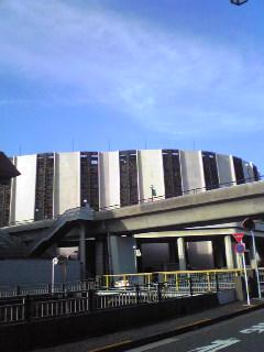 コンクール会場の普門館