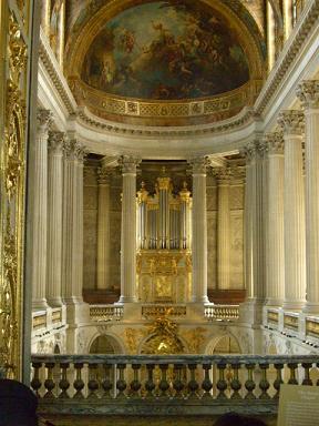 ヴェルサイユ宮殿教会
