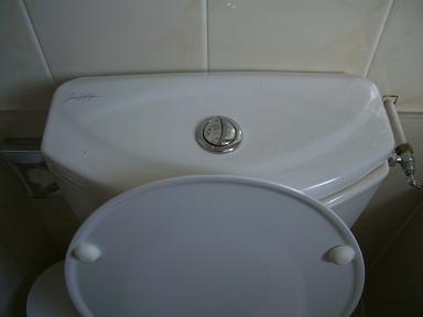 トイレのボタン