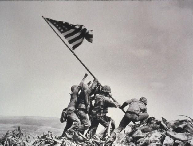1945年 『硫黄島の星条旗』 (日本)