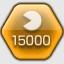 喪黒さんに15,000点