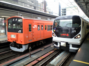 新宿駅で遭遇