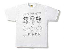 A BATHING APE x BEASTIE BOYS Charity T-shirts