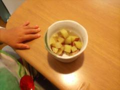 リンゴとサツマイモの甘煮