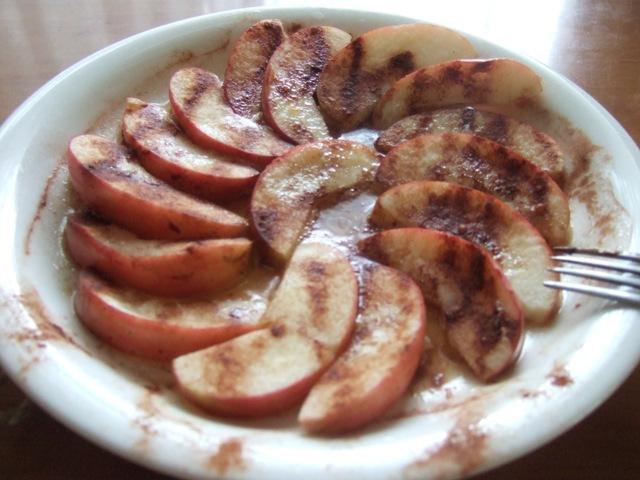 蒸しりんご