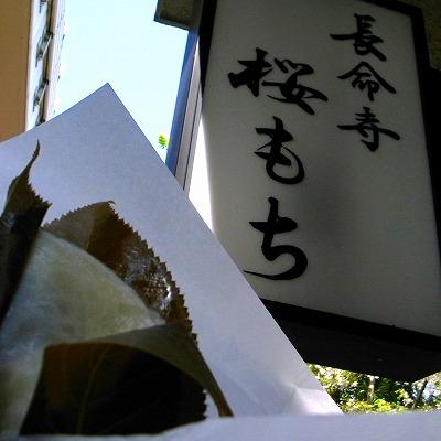 2011-04-13 長命寺 桜もち 002