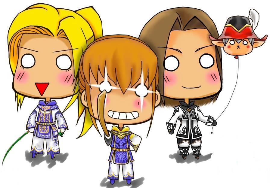 Reiya,Seba,Ameny&Nightwalker