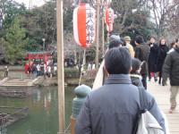 洗足池の千束八幡神社