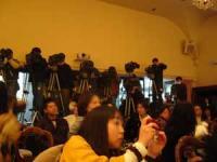 たくさんのカメラマン