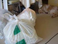 いっぱいの ゴミ