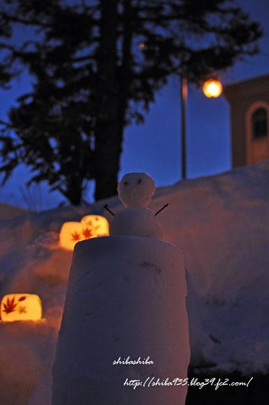 雪あかりの路13