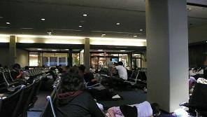ホノルル空港泊まり2