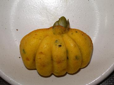 かぼちゃ上