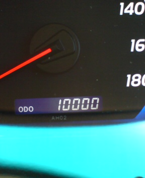 10000km達成2