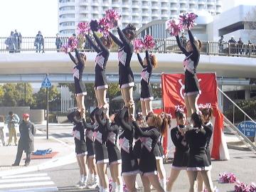 神戸学院大の応援
