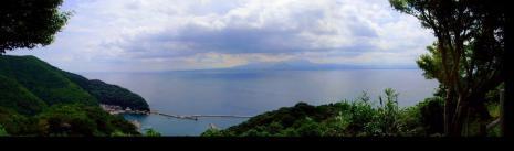 五本松公園頂上から