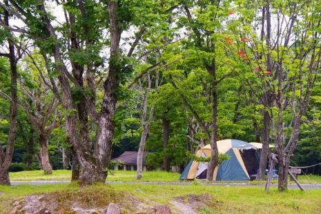 鏡ケ成キャンプ場2
