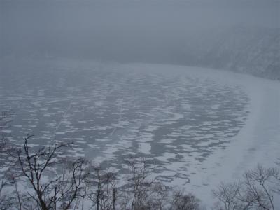 摩周湖結氷