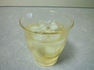 レモン酒(1.5ヵ月)グラス
