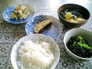 お母さんの夏の朝ご飯001