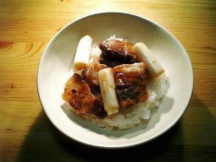 葱豚テキ丼001