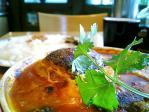 KIKUYAランチハンバーグカリーをバターマサラで008
