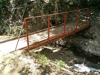 コース内にある橋
