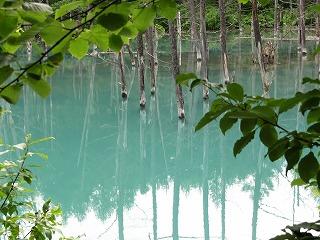 7.18 青い池