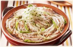 豚バラと白菜の重ね鍋3