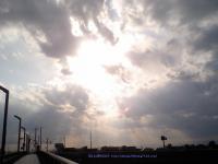 天使の梯子3月10日空に心溶け込んで