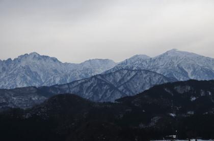 剱と大日岳