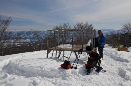冬の展望台