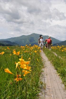 至仏山へと続く道