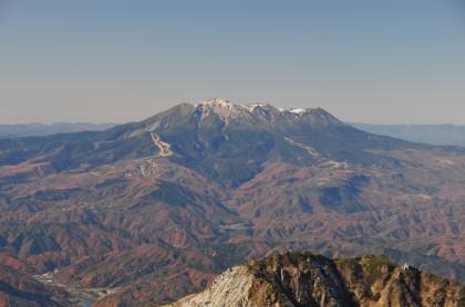 木曽駒ヶ岳から