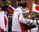 日本ナショナル・チームの表彰・・・