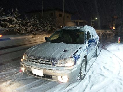 雪の日のランカスター