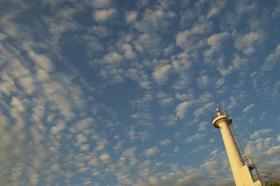 あお空雲灯台