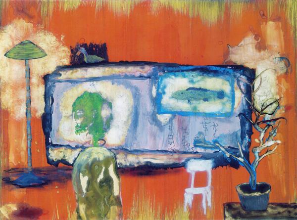 この絵の中でアーティストの魂はくそったれ主義になってしまった。お前は自分が誰なのかを知っているはずだ。